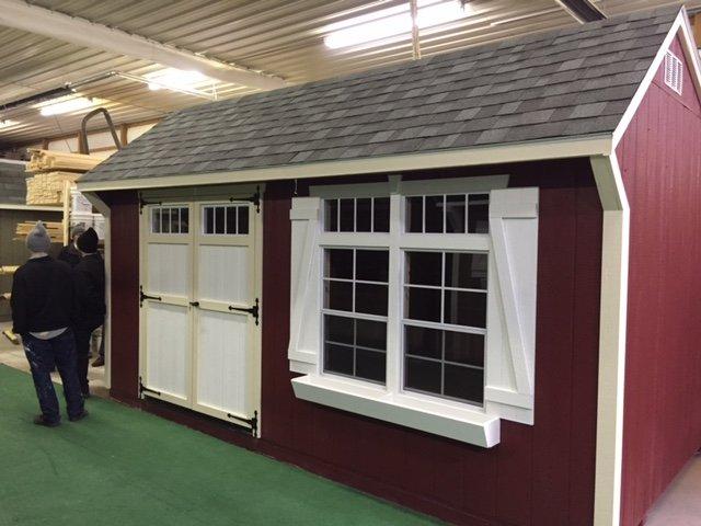 Custom built barns amish built barns for Amish built sheds